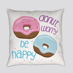 Donut Worry Everyday Pillow