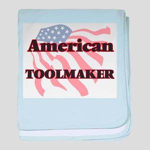 American Toolmaker baby blanket
