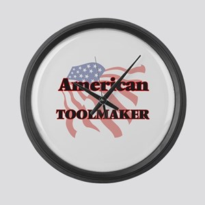 American Toolmaker Large Wall Clock