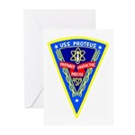 USS Proteus (AS 19) Greeting Cards (Pk of 10)