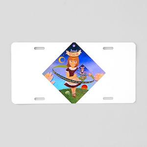 Eternal girl Aluminum License Plate