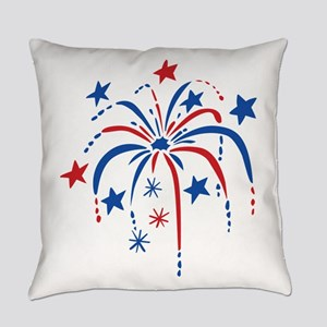 Fireworks Everyday Pillow