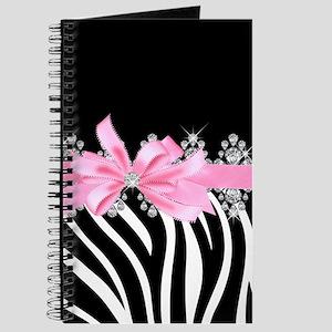 Zebra (pink) Journal