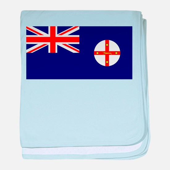 New South Wales baby blanket