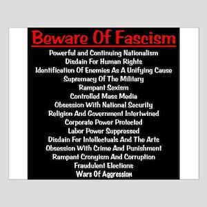 Beware of Fascism Posters