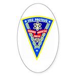 USS Proteus (AS 19) Oval Sticker