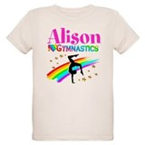 Champion gymnast Organic Kids T-Shirt