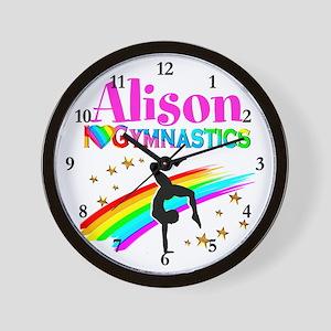 GYMNAST CHAMPION Wall Clock