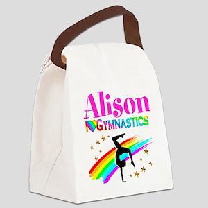 GYMNAST CHAMPION Canvas Lunch Bag