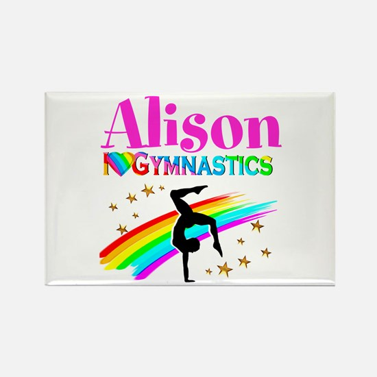 GYMNAST CHAMPION Rectangle Magnet