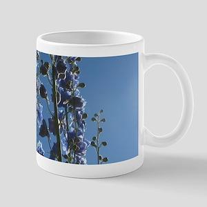 Tall Blue on Blue Sky Mugs