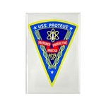 USS Proteus (AS 19) Rectangle Magnet (10 pack)