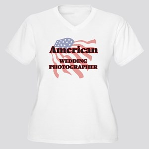 American Wedding Photographer Plus Size T-Shirt