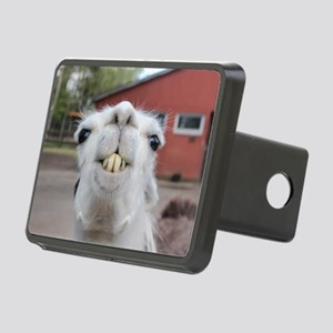 Funny Alpaca Llama Smile Rectangular Hitch Cover