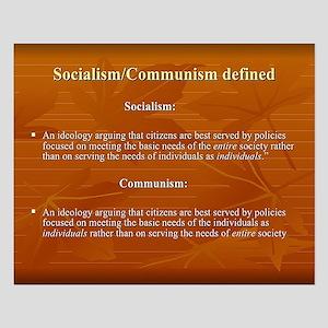 Socialism, Communism Defined Posters
