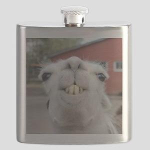 Funny Alpaca Llama Flask