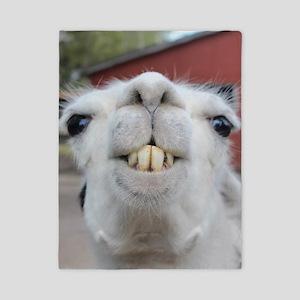 Funny Alpaca Llama Twin Duvet