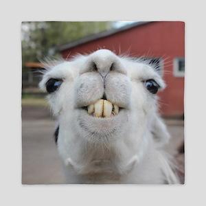 Funny Alpaca Llama Queen Duvet