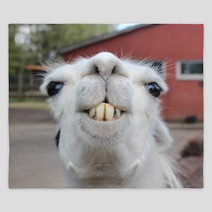 Funny Alpaca Llama King Duvet
