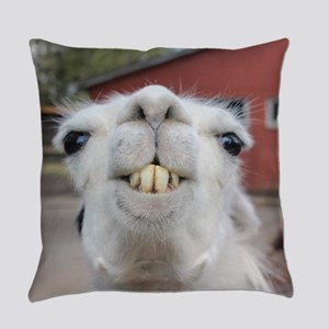 Funny Alpaca Llama Everyday Pillow