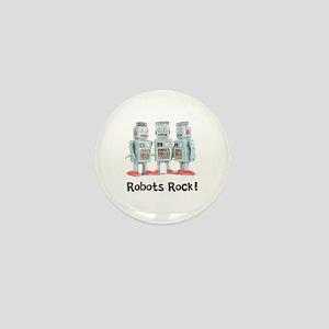 Robots Rock! Mini Button
