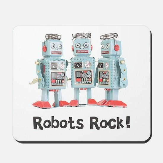 Robots Rock! Mousepad