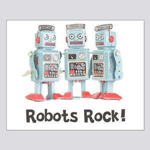 Robots Rock! Small Poster
