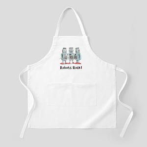 Robots Rock! BBQ Apron