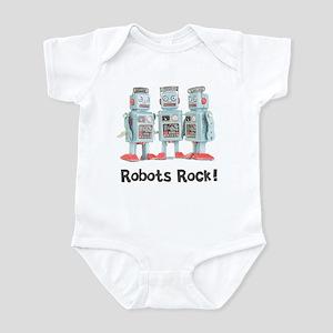 Robots Rock! Infant Bodysuit
