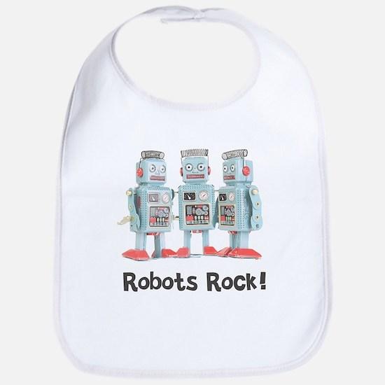 Robots Rock! Bib