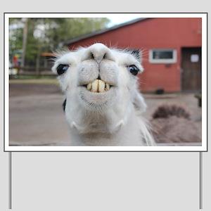 Funny Alpaca Llama Yard Sign