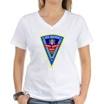 USS Proteus (AS 19) Women's V-Neck T-Shirt