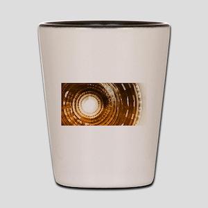 Binary Data Abstract Shot Glass