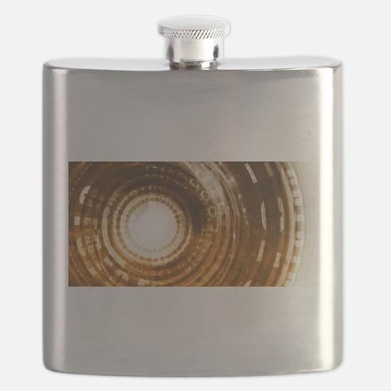 Binary Data Abstract Flask