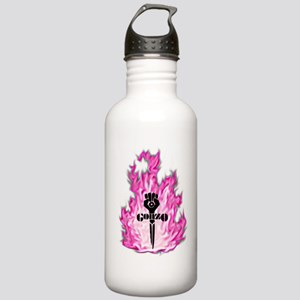 Gonzo Pink Water Bottle