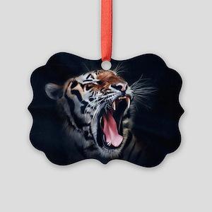 Roaring Tiger Ornament