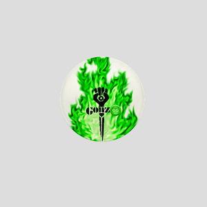 Gonzo Green Mini Button