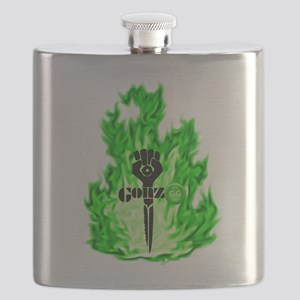 Gonzo Green Flask
