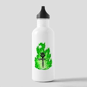Gonzo Green Water Bottle