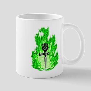 Gonzo Green Mugs