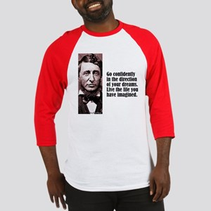 "Thoreau ""Go Confidently"" Baseball Jersey"