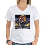 Zones Women's V-Neck T-Shirt