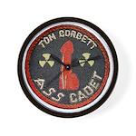 Tom Corbett Ass Cadet Patch - Wall Clock