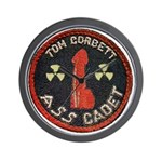 Tom Corbett Ass Cadet Patch - Wall Clock