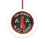 Tom Corbett Ass Cadet Patch - Ornament (Round)