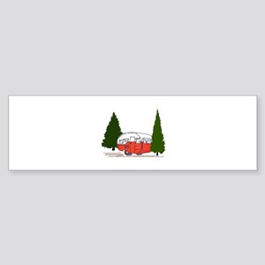 Vintage Camping Bumper Sticker