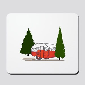 Vintage Camping Mousepad