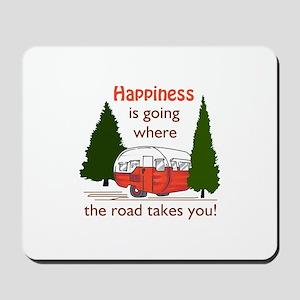Where Road Takes You Mousepad