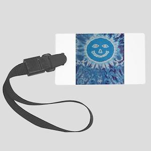 Mr Eyes Tie-Dye Luggage Tag
