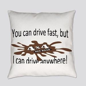 4x4 Drive anywhere! Everyday Pillow